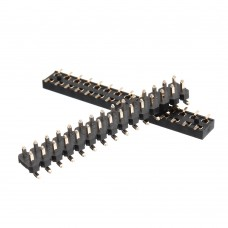 3pcs M5Stack 1 Pair 2×15 Pin Header Socket 2.54mm Male Female Connector for M5Stack Core Development Kit